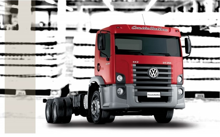 VW truck constellation