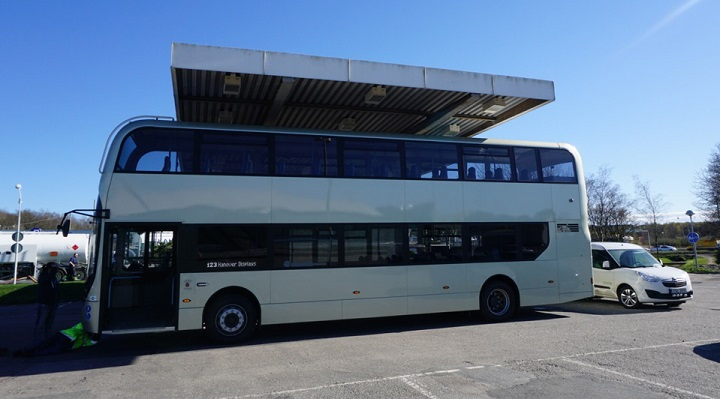 bus by scania