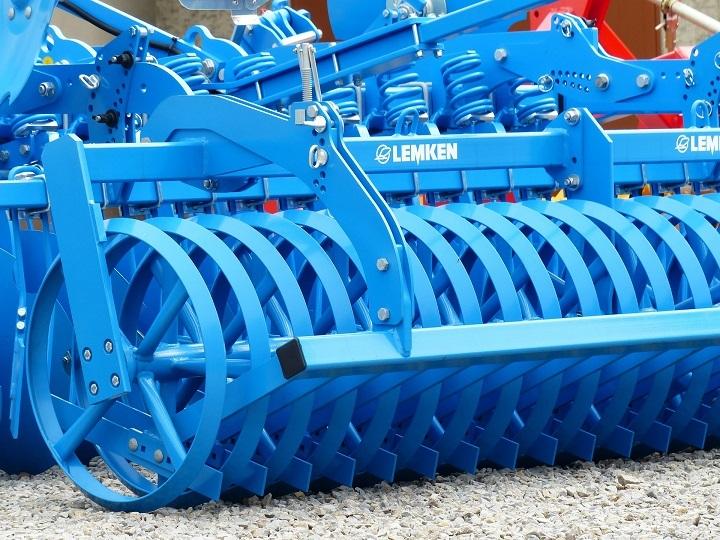 planting soil farming short disc harrow