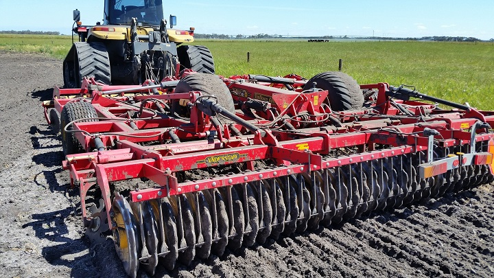 soil farming disc harrow