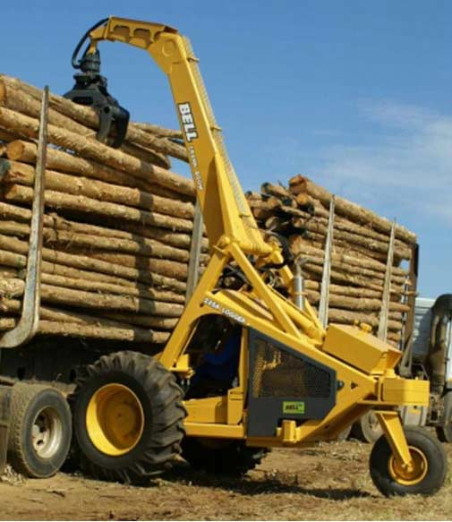Effectively Designed Bell Loggers | Bell Equipment | AgriMag