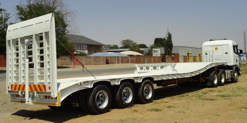 Trailord Lowbed Trailers In South Africa | Truck & Trailer
