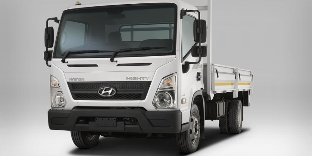 Hyundai Mighty EX8 | Light Commercial Vehicle | Truck & Trailer