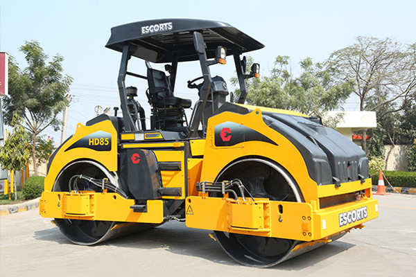 Escorts HD85 Asphalt & Soil Compaction Roller For Sale | Truck & Trailer