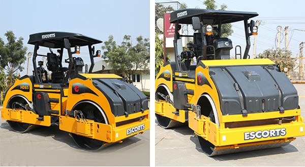 Escorts HD85 Compaction Roller For Sale | Truck & Trailer