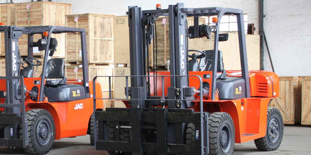JAC CPCD70 Diesel Forklift For Sale In SA | Truck & Trailer