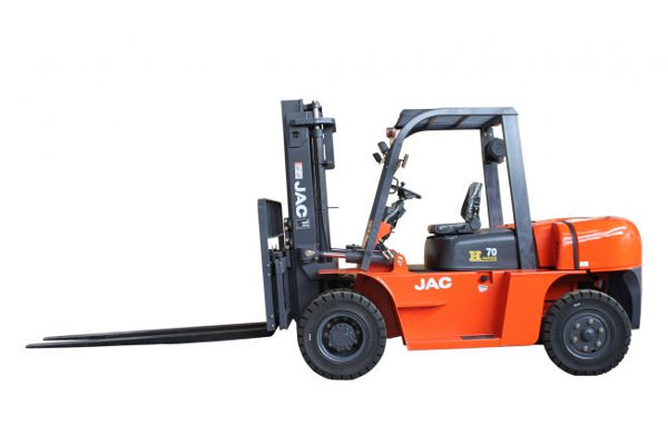 JAC CPCD70 Diesel Forklift | Machinery For Sale On Truck & Trailer