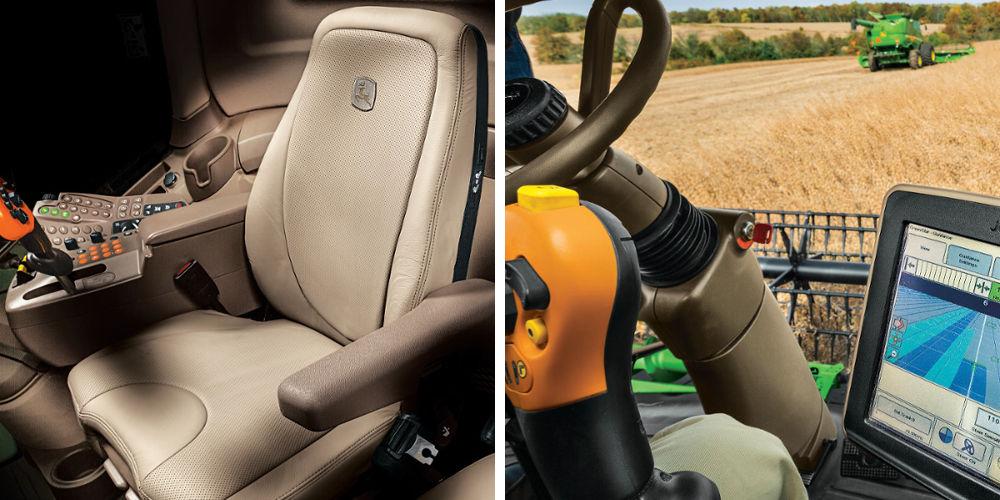 S670 Combine Harvester Interior | AgriMag
