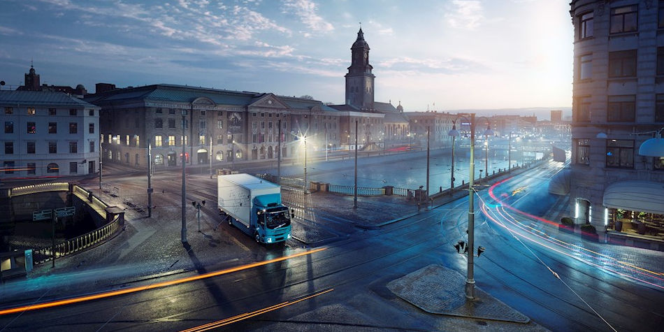 Volvo FL Electric | All-Electric Commercial Trucks | Truck & Trailer