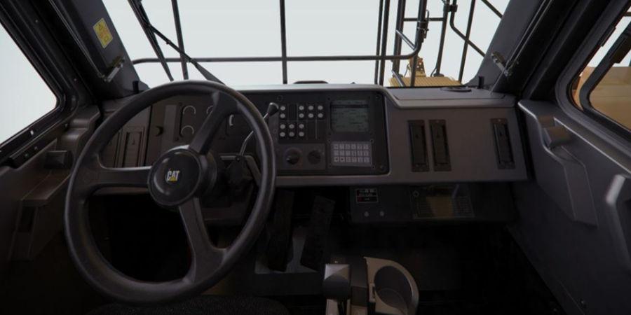 CAT 785D Off-highway Truck Interior | Truck & Trailer