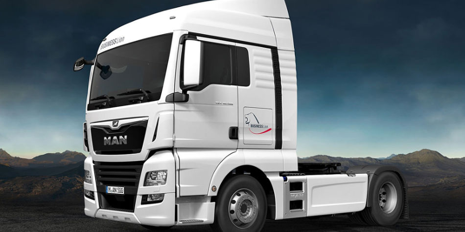 MAN TGX Business Lion Edition | Truck & Trailer