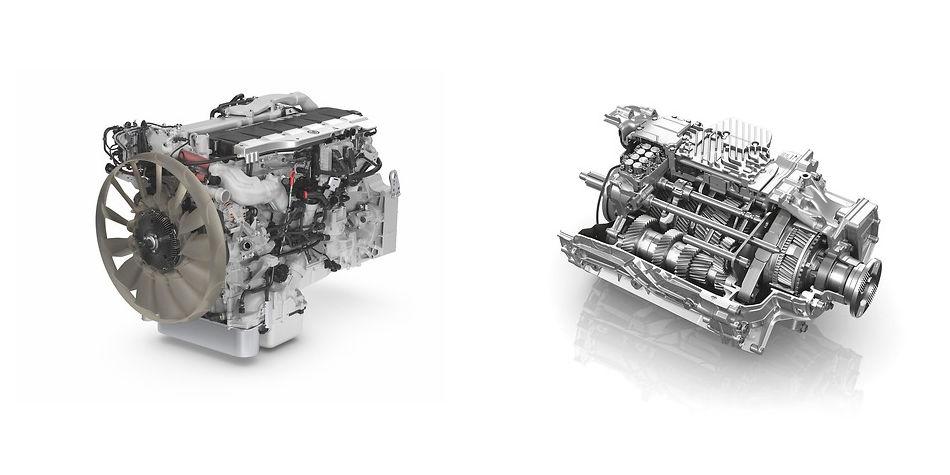 MAN TGX Engine & Transmission   Truck & Trailer