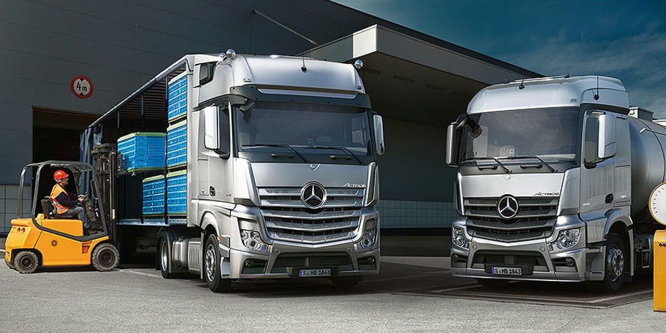The New Actros | Trucks For Sale On Truck & Trailer