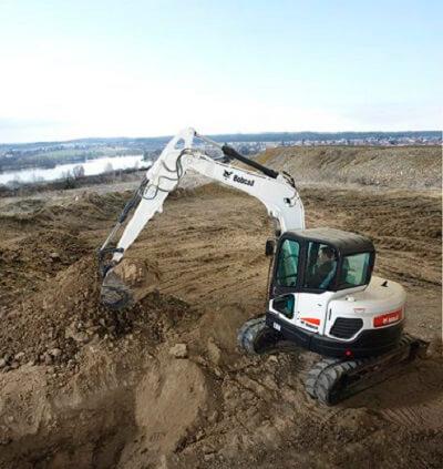 Bobcat E80, Excavators