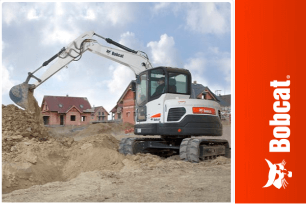 Get the job done with the Bobcat E80 Excavator | Truck & Trailer