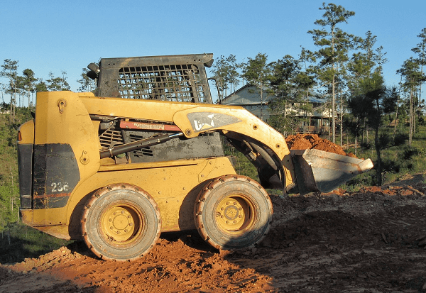 Skid steer loader - earth moving equipment
