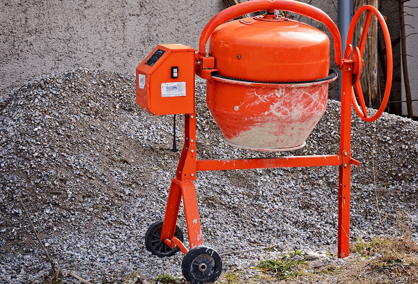 Cement mixer for construction