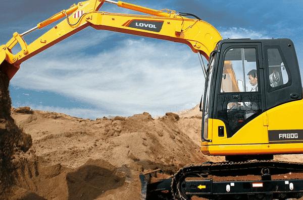 FR 80E Excavators | Truck & Trailer