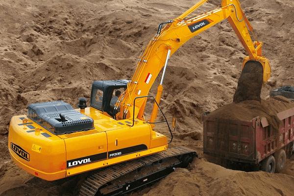 FR330D Excavators | Truck & Trailer