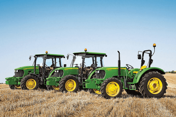 The John Deere E Series tractor range means business - Part 1