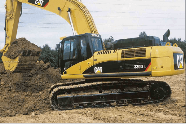 The robust Caterpillar 330D Excavator – Built to last