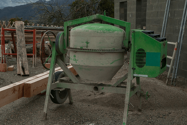 New or second hand concrete mixer