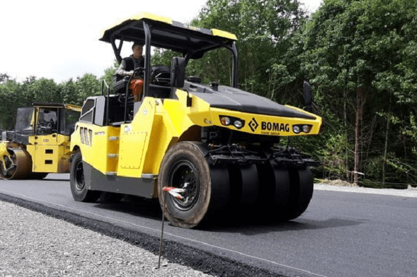 pneumatic tire construction roller | Truck & Trailer