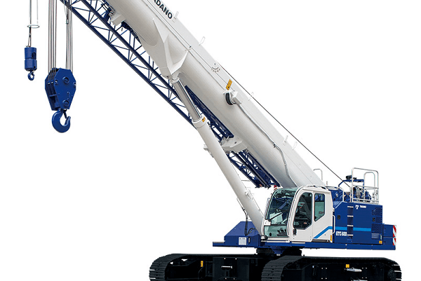 Telescopic construction crane | Truck & Trailer