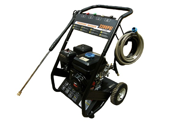 High-pressure washer available at Truck & Trailer