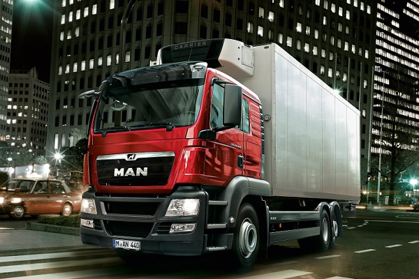 The new Man TGS ww | Truck & Trailer