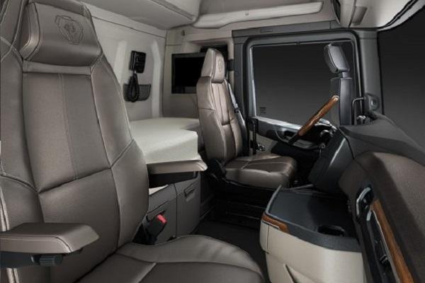 Scania s series interior   Truck & Trailer