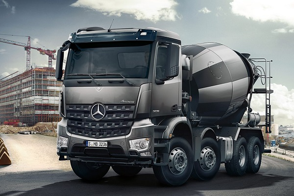 Mercedes-Benz Arocs: A new Force in Construction