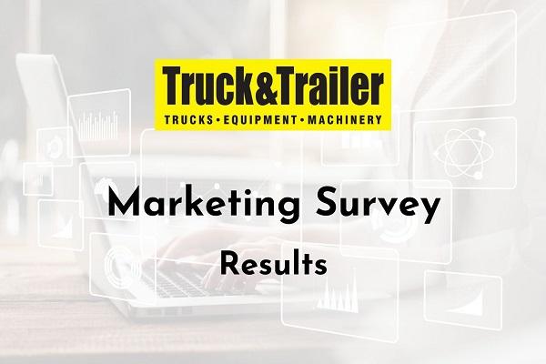 Truck & Trailer Digital Marketing Survey Results